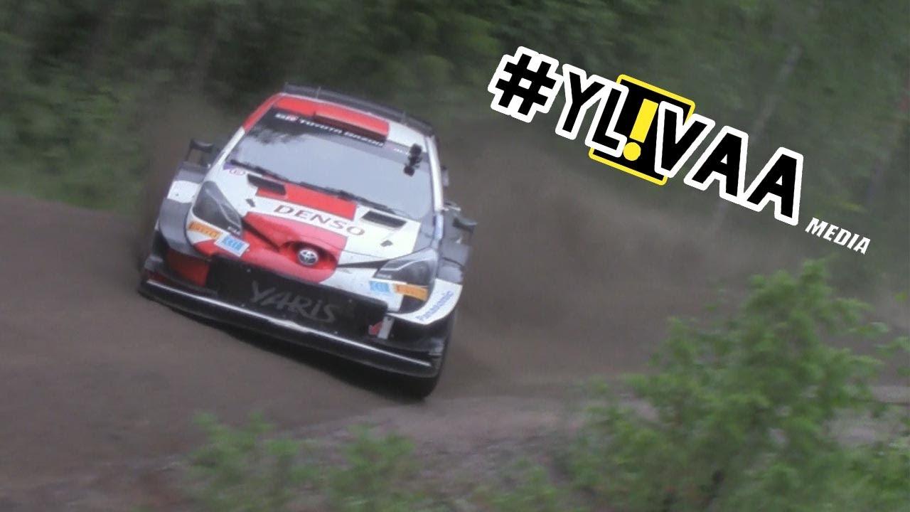 Rally Estonia eelne test Rovanperäl