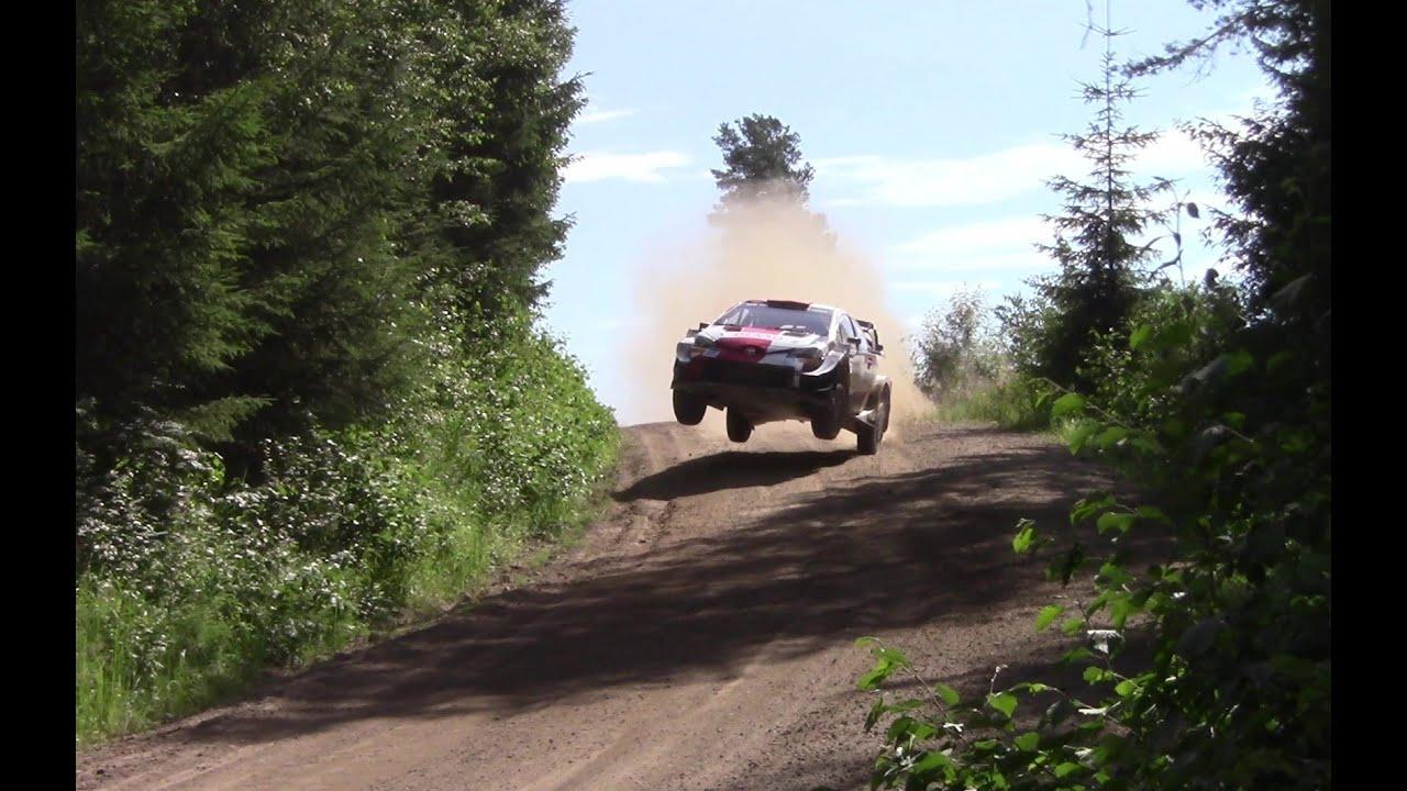 Katsuta Rally Estonia 2021 eelne test, TheTeevoman