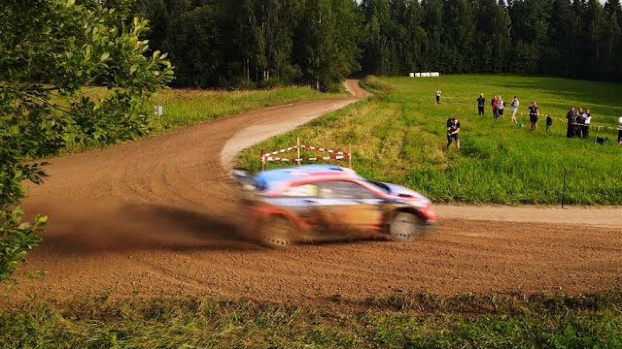 Lõuna-Eesti Ralli kiiruskatsed õhust