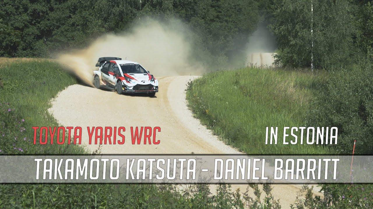Katsuta Rally Estonia test 07.08.2020