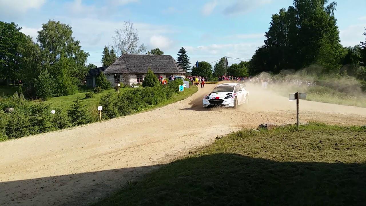 Rally Estonia 2019 Märtini sõiduviga esimesel kiiruskatsel