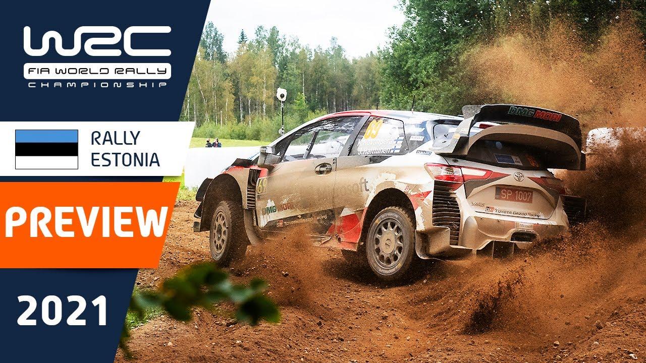 Rally Estonia 2021 eelvaade, WRC