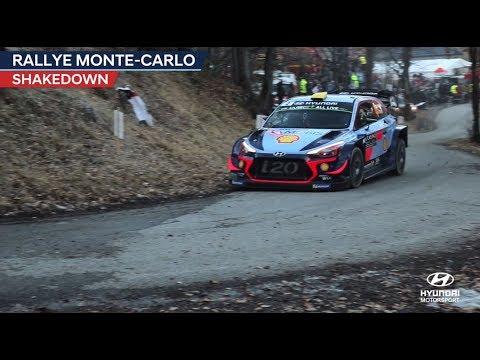 Monte Carlo ralli 2018 - shakedown testikatse, Hyundai Motorsport