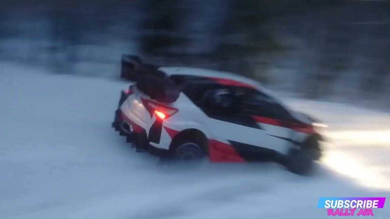 Rootsi ralli 2020 - rallieelne test, Rovanperä ja Toyota - RALLY AIR