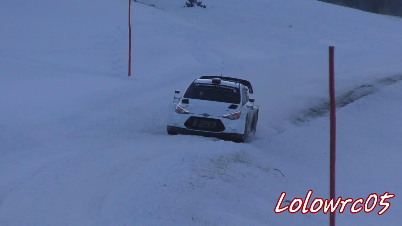 Monte Carlo ralli 2019 - rallieelne test, Loeb