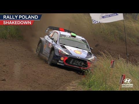 Poola rall 2017 - shakedown testikatse, Hyundai Motorsport