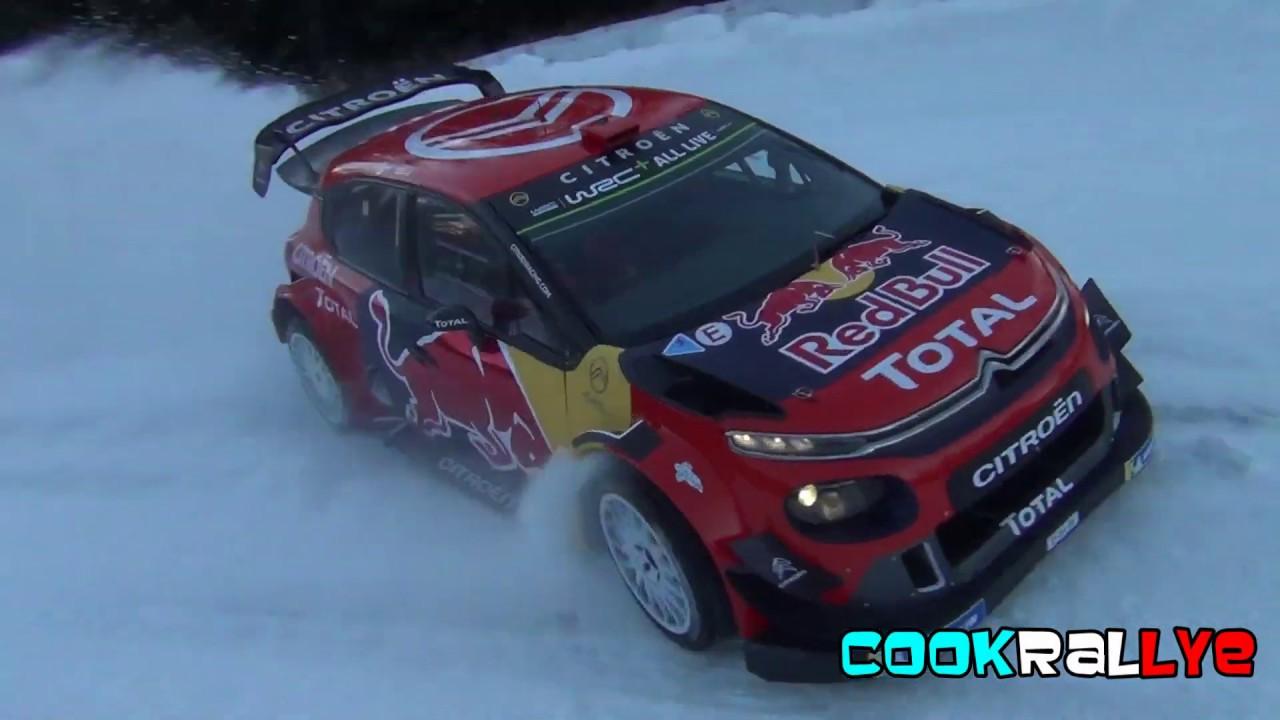 Monte Carlo ralli 2019 - rallieelne test, Ogier, lumes
