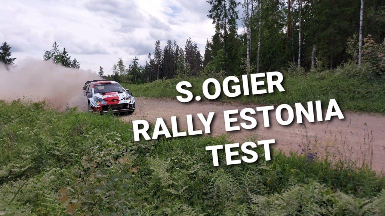 Ogier testimas Rally Estonia 2021 eel, Amateur Rally Cam