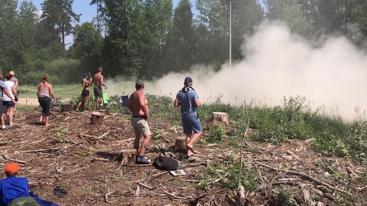 Rally Estonia 2018 - 2. päev, SS14, sõiduviga
