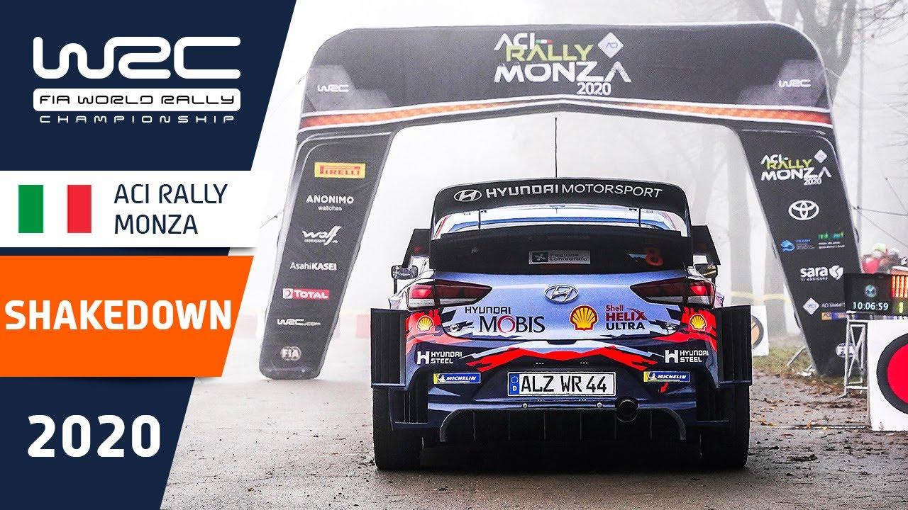 Monza Ralli shakedown testikatse parimad palad