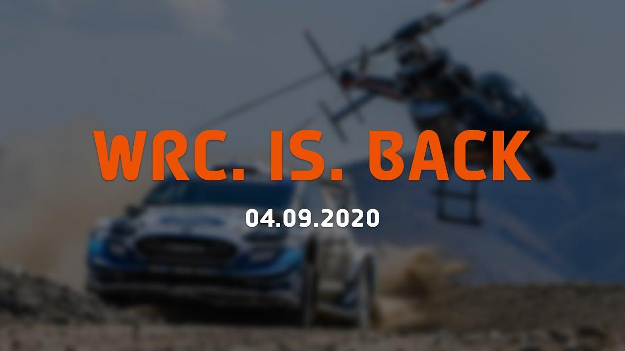 WRC sari on tagasi!