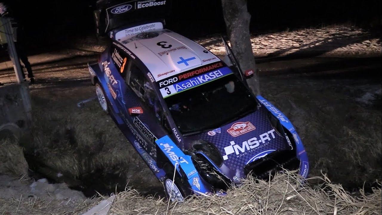 Monte Carlo ralli 2019 - Sunnineni väljasõit ja Rovanperä sissesõit