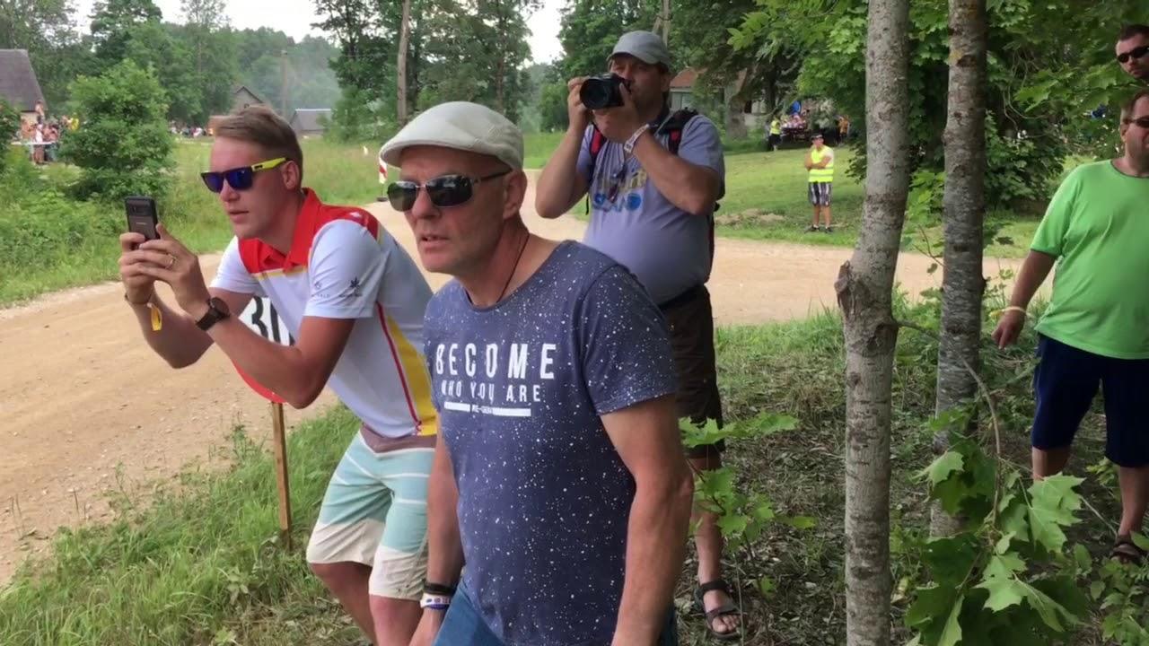 Rally Estonia 2018 - 1. päev, SS9, fänni reaktsioon