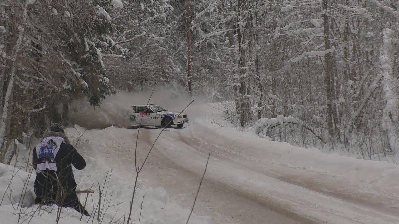 Cimdiņše lumehange sõit Otepää Talverallil 2021