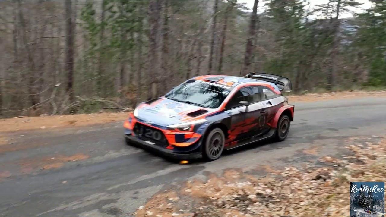 Monte Carlo ralli 2020 - rallieelne test, Tänak ja Hyundai - null