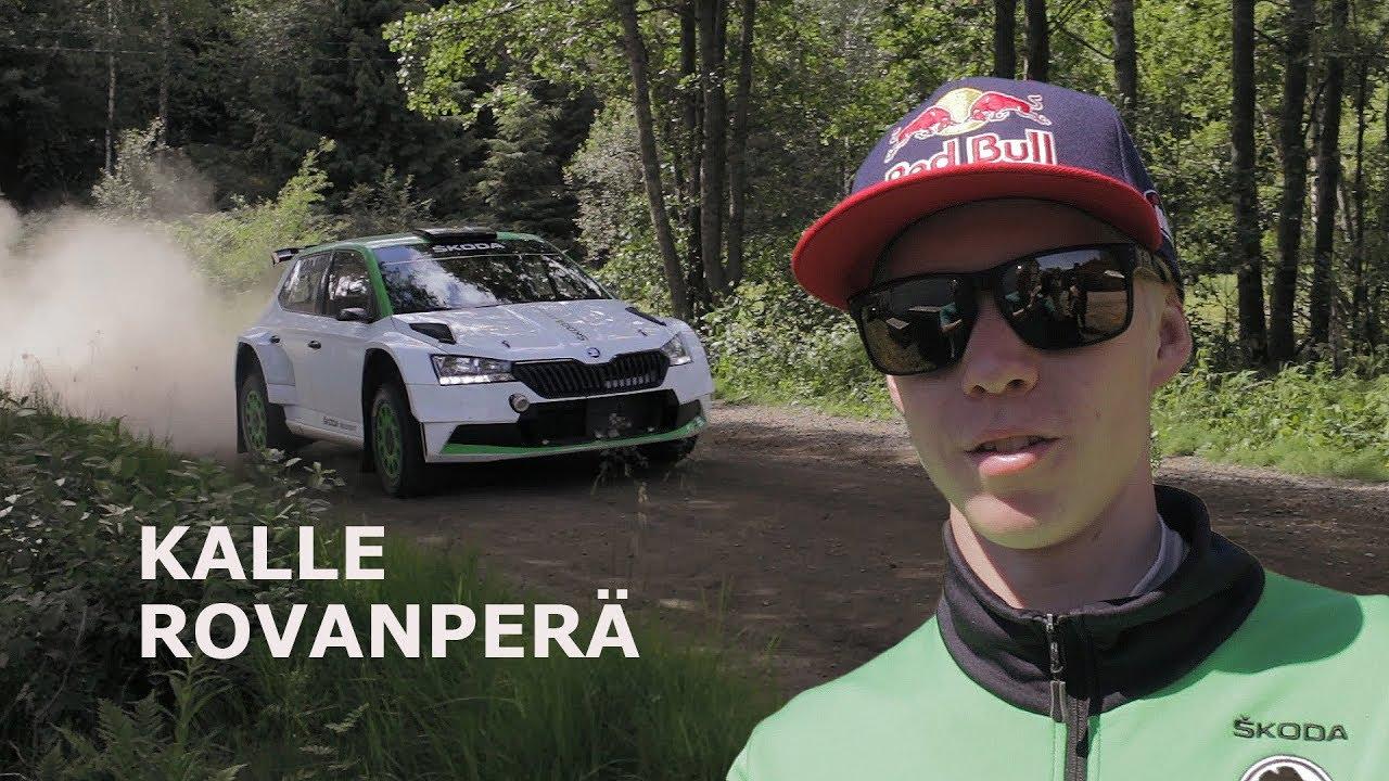 Soome ralli 2019 - rallieelne test, Rovanperä, jka