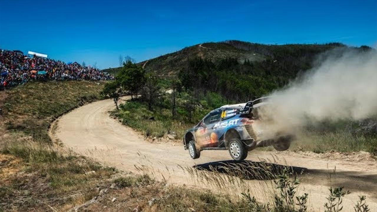 M-Sport reedene päev Portugali rallil