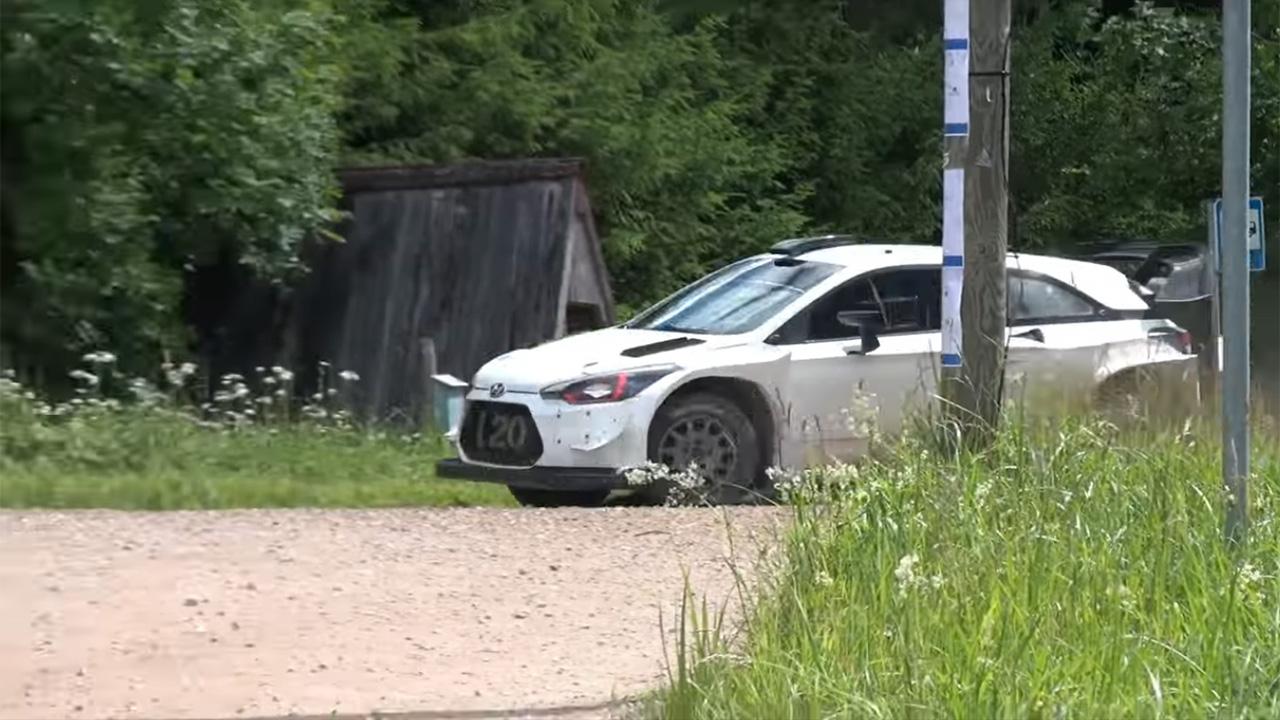 Soome ralli 2018 - rallieelne testimine, Hyundai, Neuville, Pangazrally