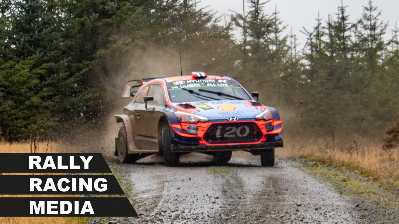 Walesi ralli 2019 - teise võistluspäeva ülevaade, Rally Racing Media