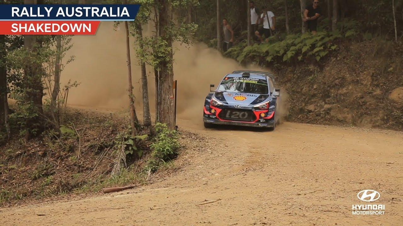 Austraalia ralli 2018 - testikatse, Hyundai Motorsport