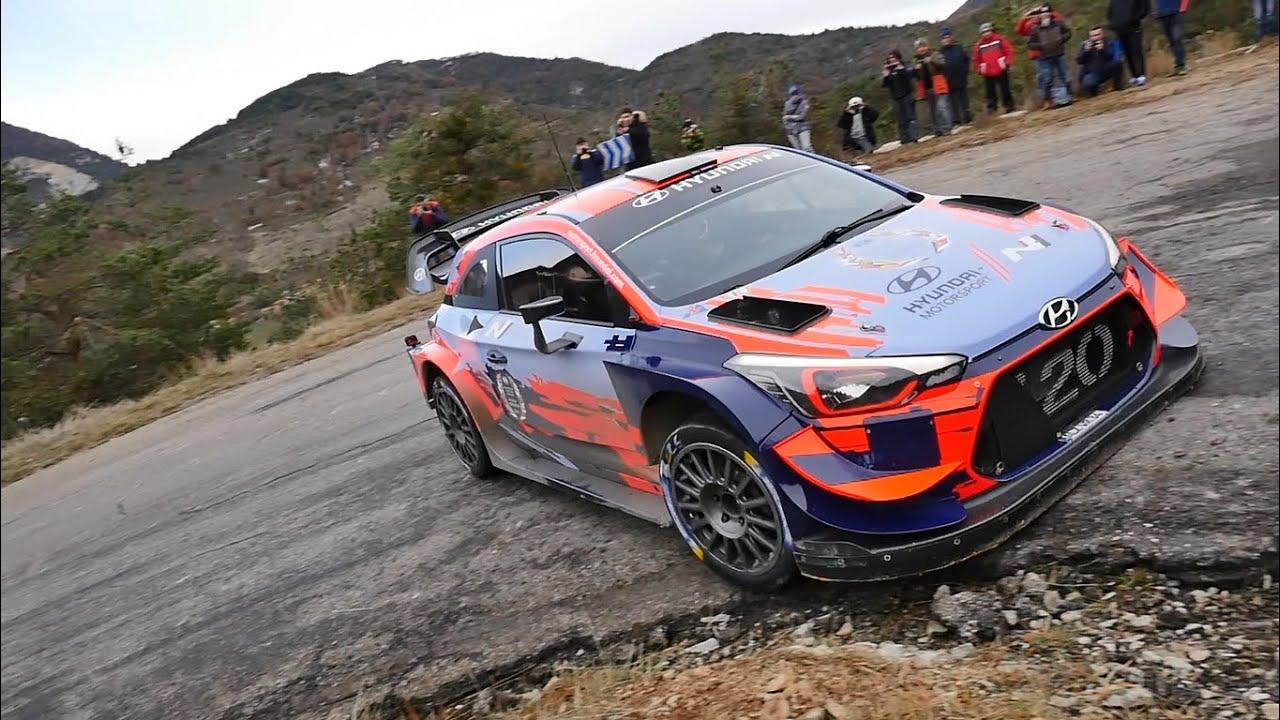 Monte Carlo ralli 2020 - rallieelne test, Tänak ja Hyundai - Bat Rallye