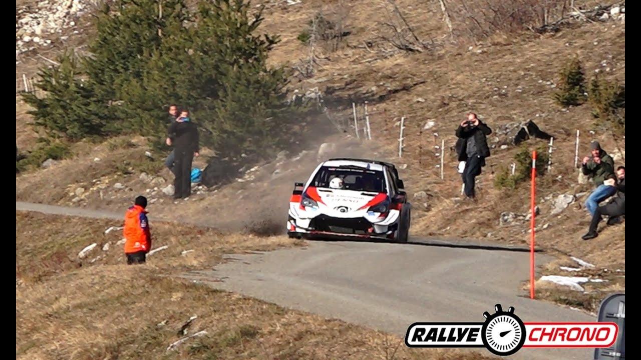 Monte Carlo ralli 2020 - rallieelne test, Ogier ja Toyota - Rallye Chrono