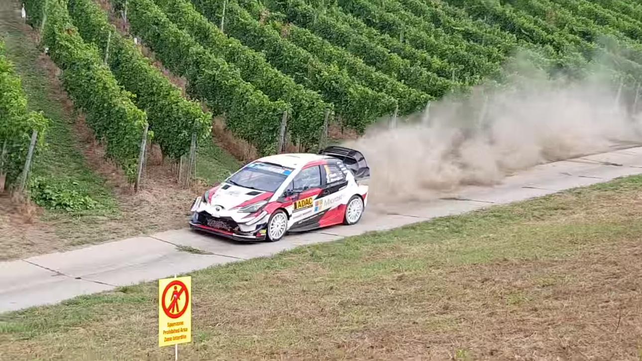 Saksamaa ralli 2018 - SS2, ülevaade, Rallye TV