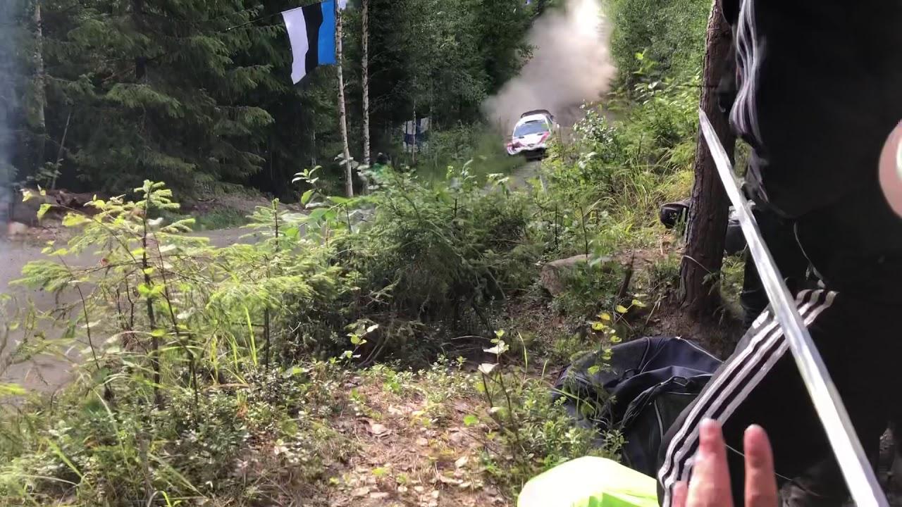 Soome ralli 2019 - SS3 Moksi 1, Meeke napikas, Joonas Jukkola