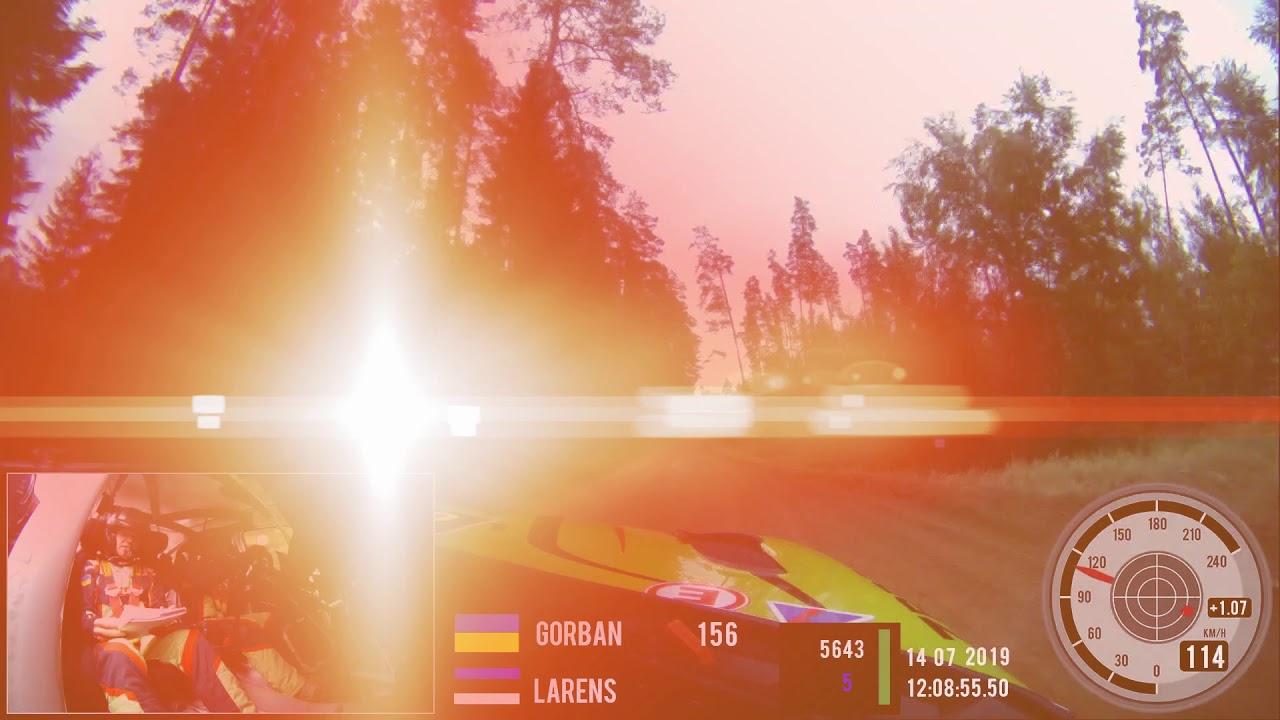 Vaata Rally Estonia 13. kiiruskatset läbi Gorbani pardakaamera