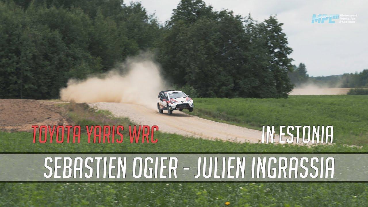 Sébastien Ogier testimas Rally Estoniaks