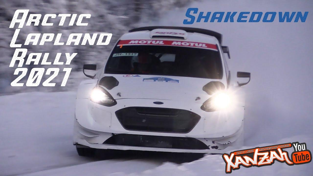 Artic Lapland Rally 2021 shakedown testikatse, XAnzah