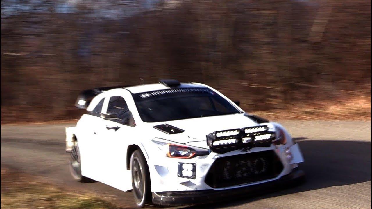 Monte Carlo ralli 2019 - rallieelne test, Loeb, 2. päev, TzRallye0412