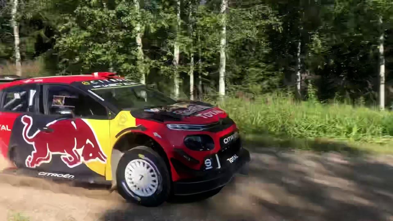 Soome ralli 2019 - rallieelne test, Lappi, Niklas Karlen