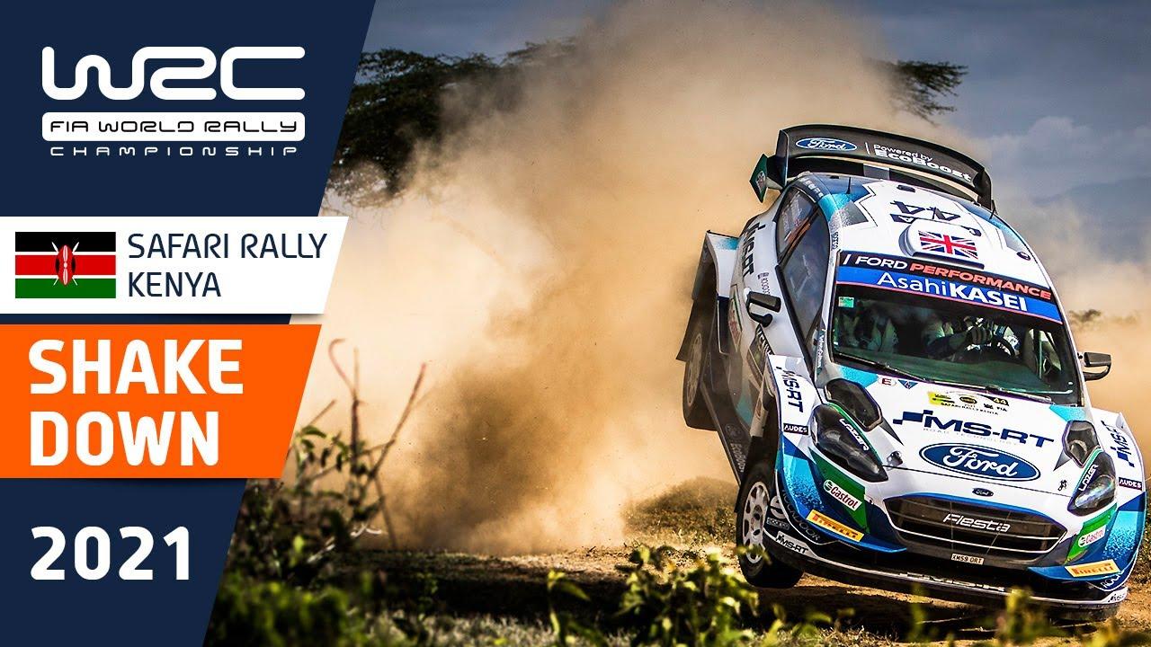 Keenia ralli shakedown testikatse kokkuvõte, WRC