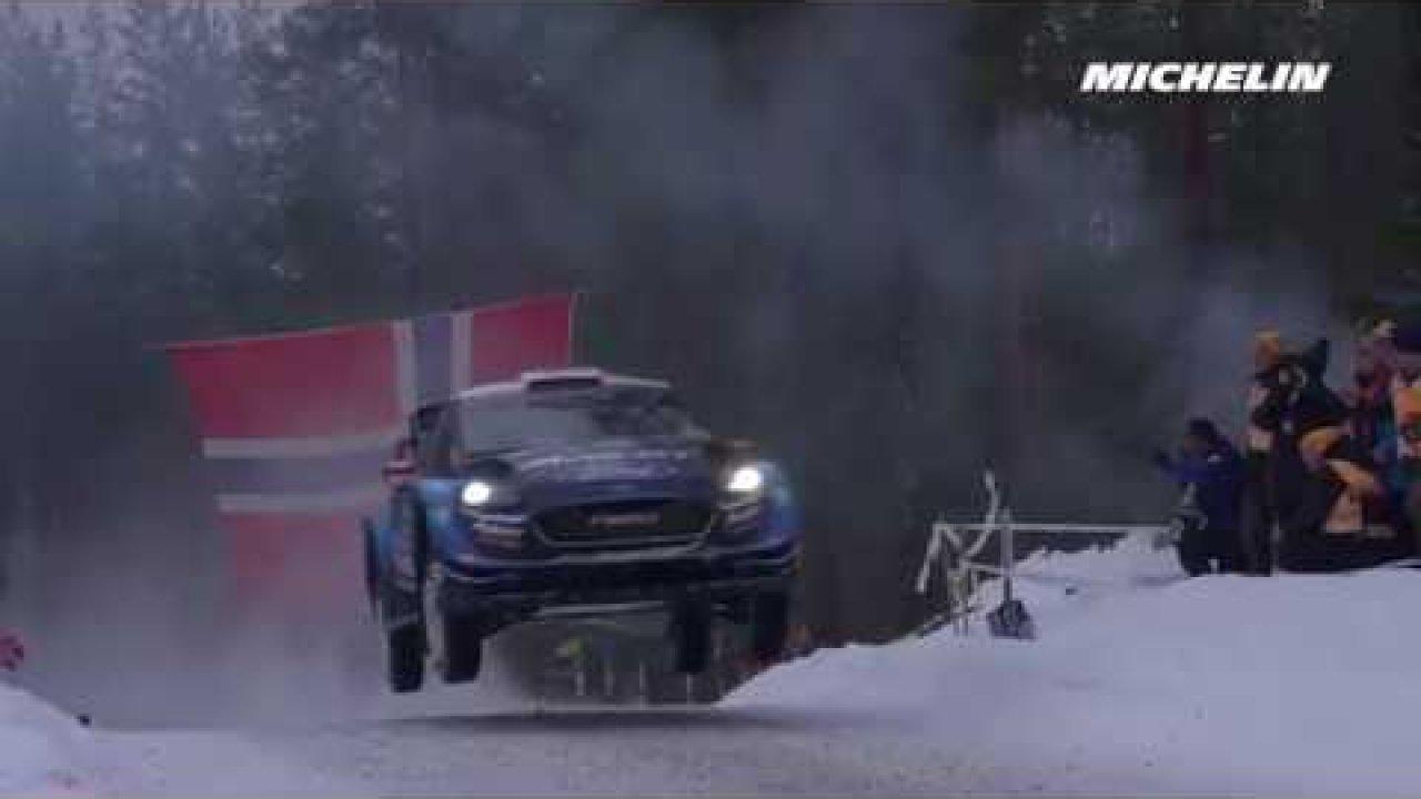 Rootsi ralli 2019 - 1. päev, telgitagused, Michelin Motorsport