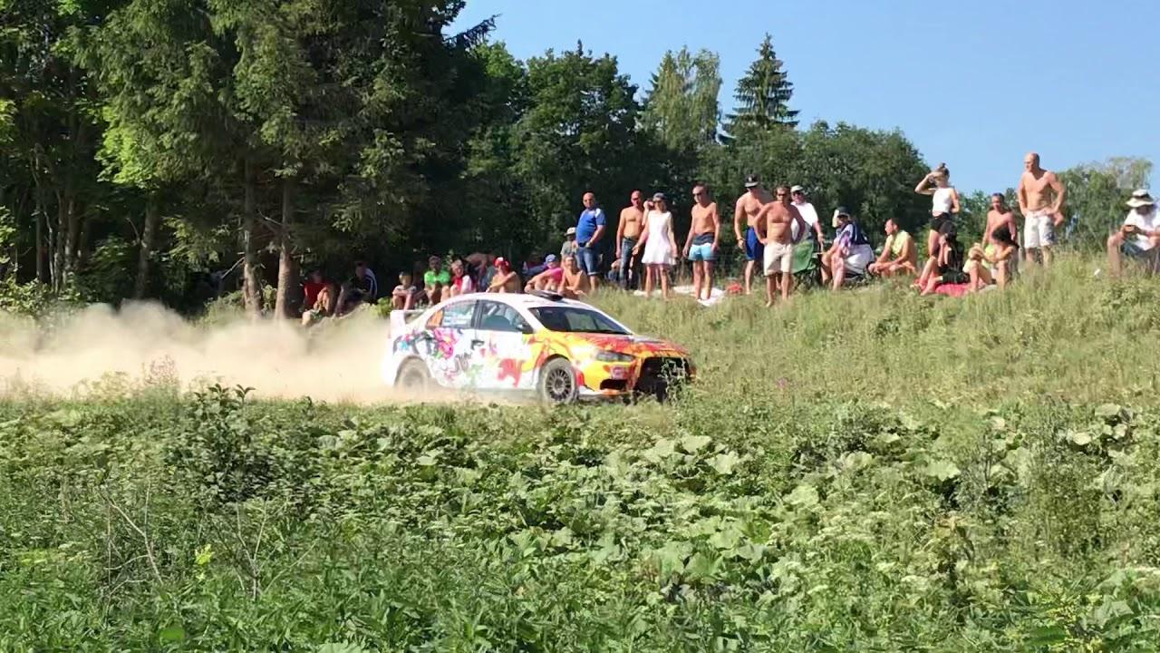 Rally Estonia 2018 - 2. päev, G. Kruuda hüpe