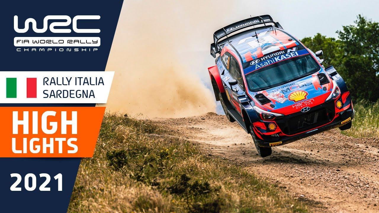 Sardiinia ralli 2021 reede õhtuste kiiruskatsete kokkuvõte, WRC