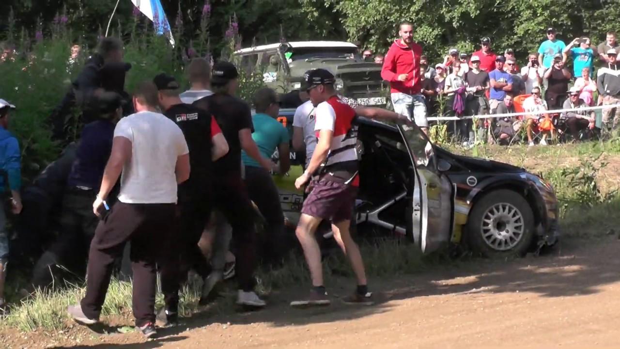 Rally Estonia 2019 - suured hüpped, väljasõidud ja momendid, pangazrally
