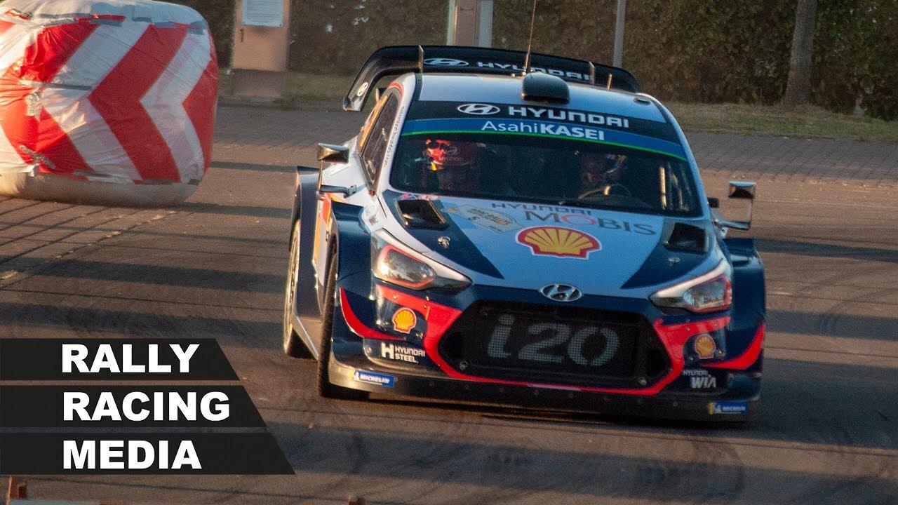 Saksamaa ralli 2018 - SS1, ülevaade, Rally Racing Media