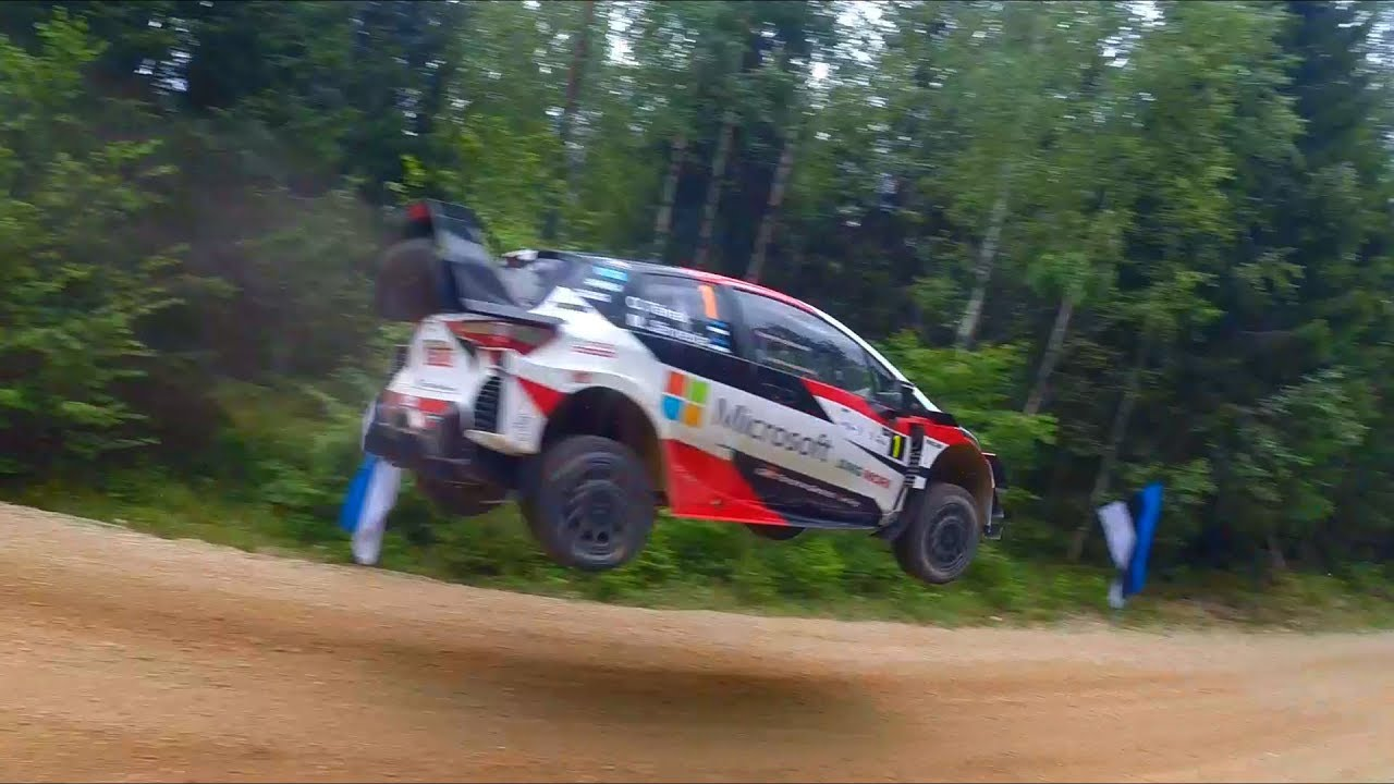 Rally Estonia 2019 Tänaku pikk hüpe, Symster Rally