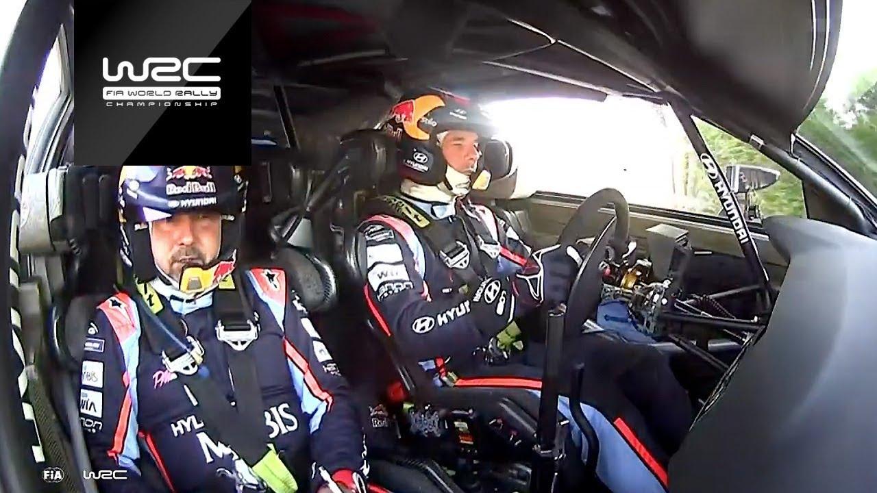 Hispaania ralli 2019 - shakedown testikatse kõrghetked, WRC