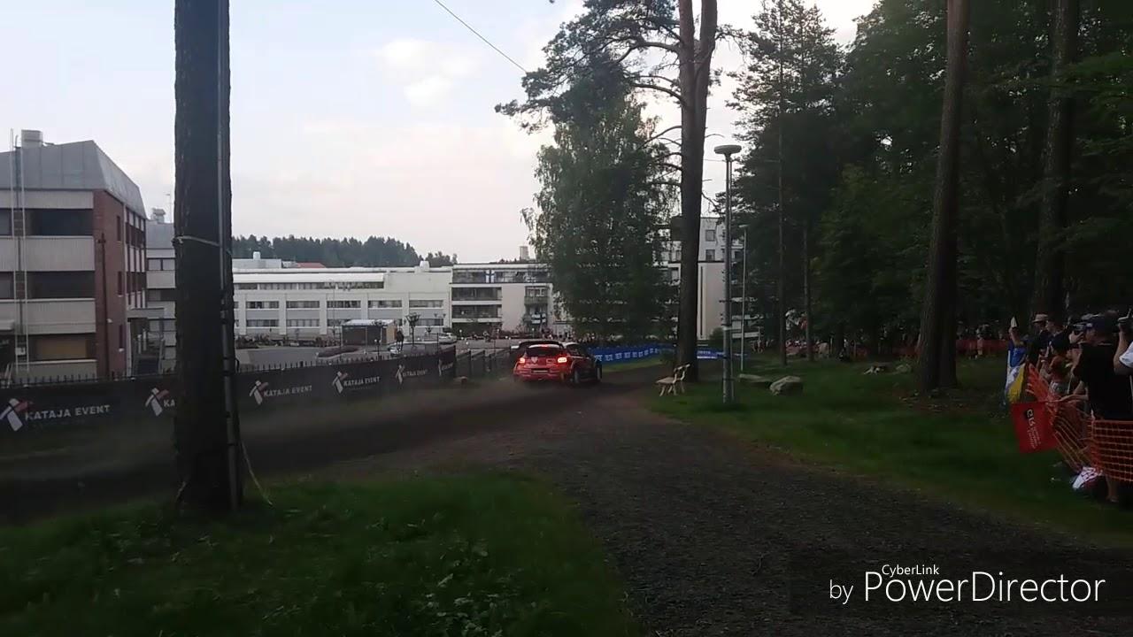 Soome ralli 2018 - SS1, FINSUKLAA