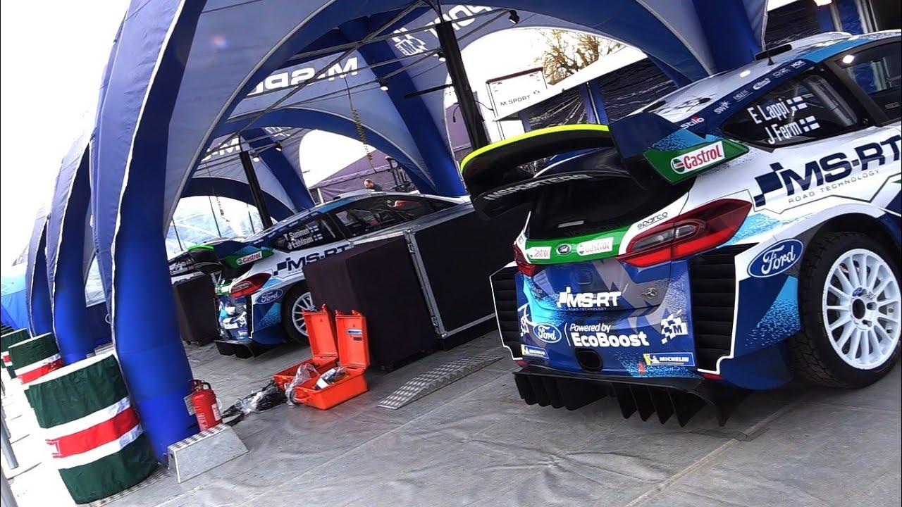 Monte Carlo ralli 2020 - hooldusala enne ralli algust, TzRallye Videos