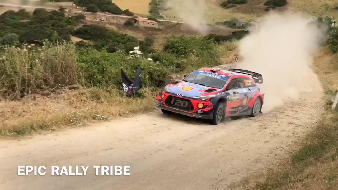 Sardiinia ralli 2019 teise võistluspäeva ülevaade, Epic Rally Tribe