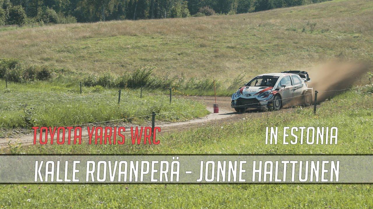 Kalle Rovanperä test Rally Estoniaks 05.08.2020