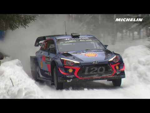 Rootsi ralli 2018 - ülevaade, 1. päev, Michelin Motorsport