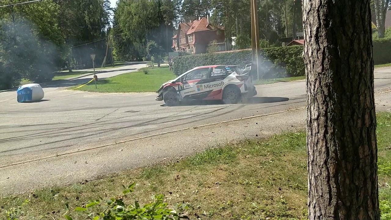 Rally Estonia 2018 - 2. päev, SS16, Tänaku võidu tähistus
