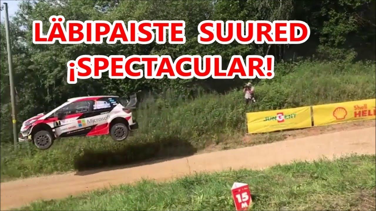 Rally Estonia 2018 - 1. päev, adrenaliinihetked