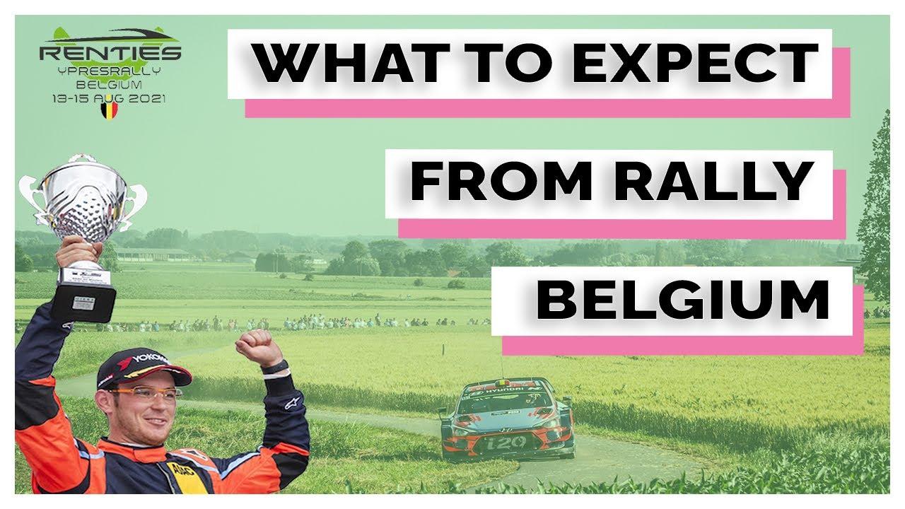 Powerstage eelvaade Belgia rallile