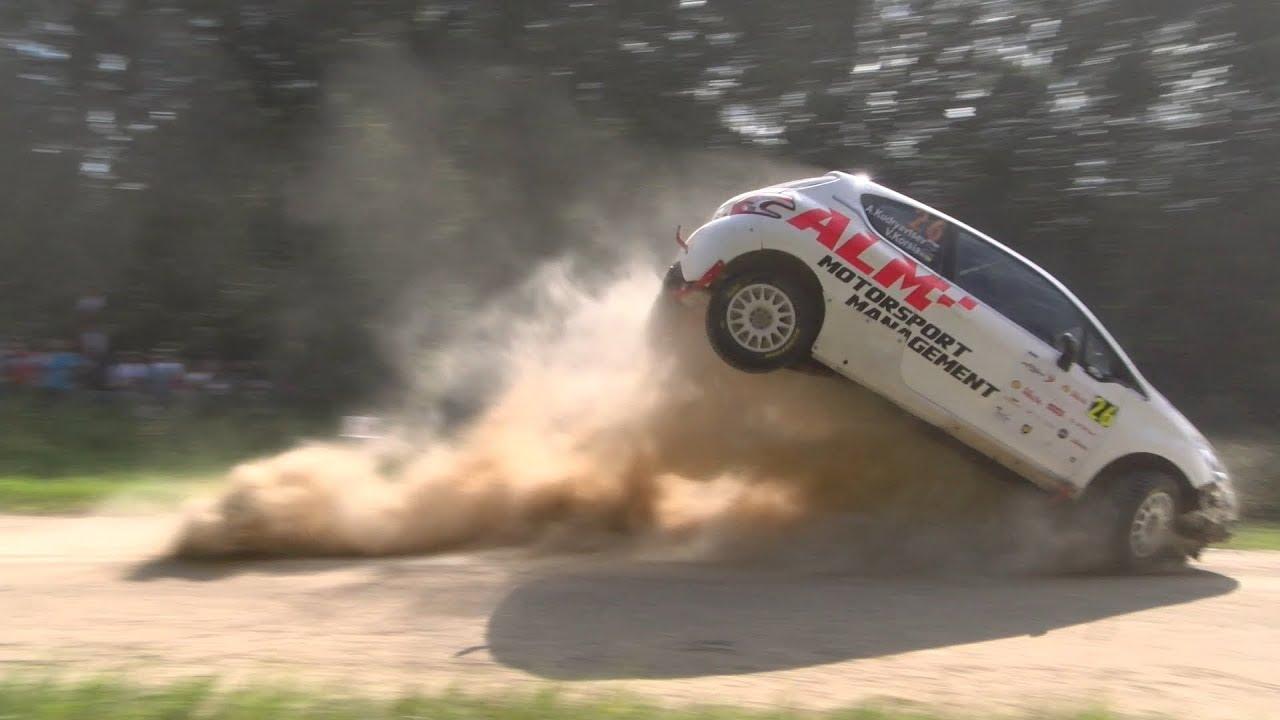 Rally Estonia 2018 - 1. päev, SS2, hüpete stiilinäited